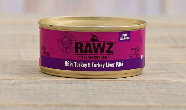Turkey & Turkey Liver Pate Cat Food