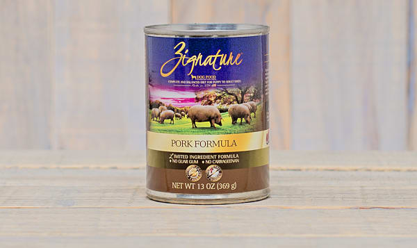 Pork-Canned Dog Food