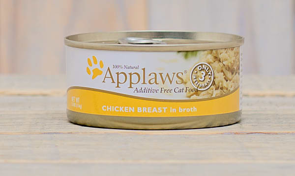 Chicken in Broth Cat Food