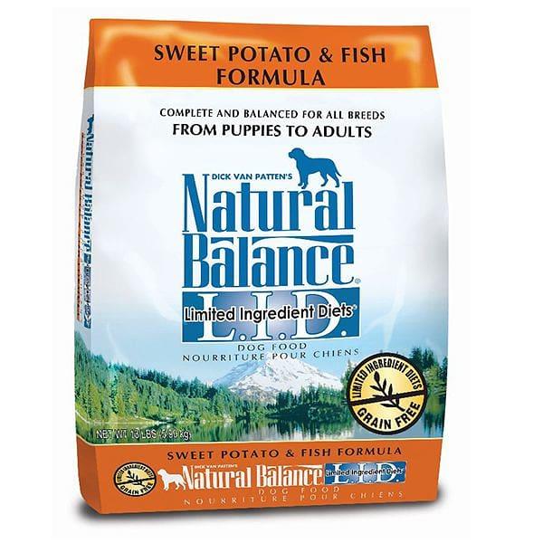 Limited Ingredient Diet - Fish & Sweet Potato Dog Formula