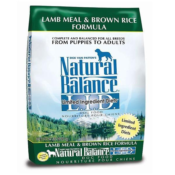 Limited Ingredient Diet - Lamb & Brown Rice Dog Formula