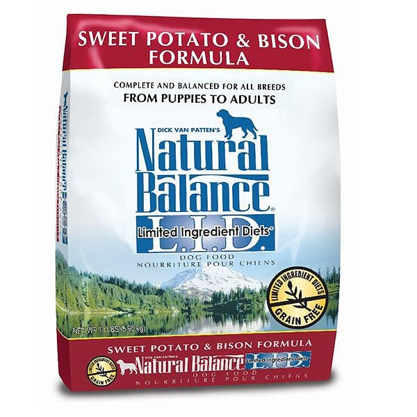 Limited Ingredient Diet - Bison & Sweet Potato Dog Formula