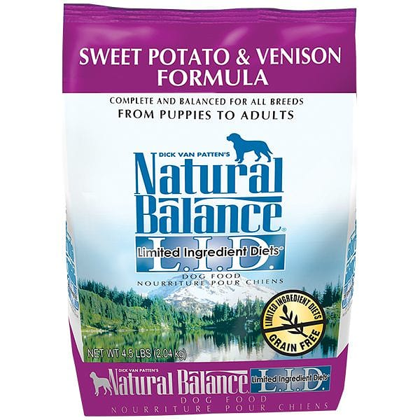 Limited Ingredient Diet - Venison & Sweet Potato Dog Formula
