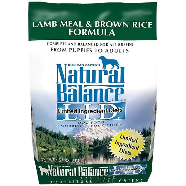 Limited Ingredient Diet - Lamb & Brown Rice Dog Formula