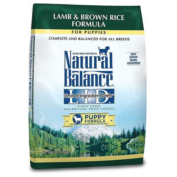 Limited Ingrdient Diet - Lamb & Brown Rice Formula for Puppies