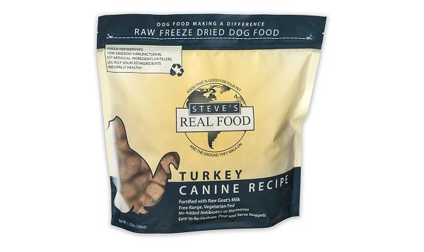 Freeze-Dried Raw Turkey Dinner For Dogs