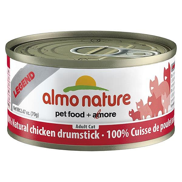 Chicken Drumstick Cat Food