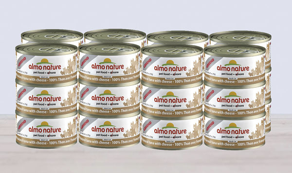 Tuna with Cheese Cat Food - CASE