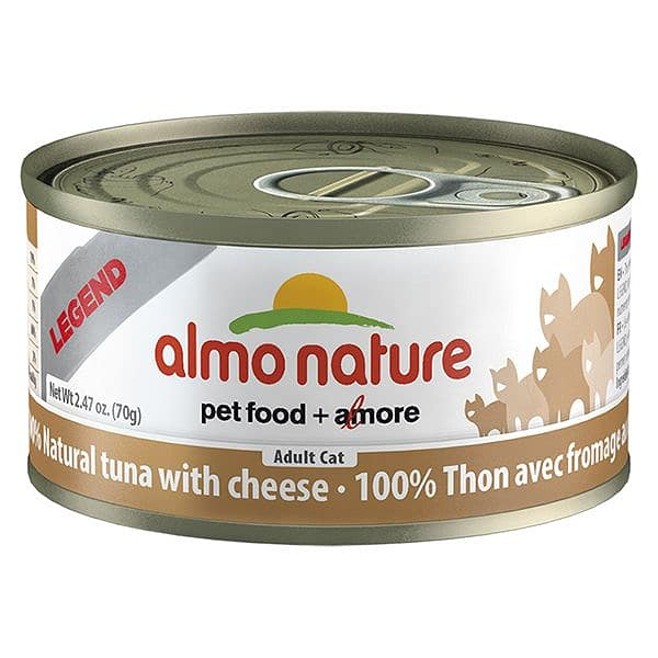 Tuna with Cheese Cat Food