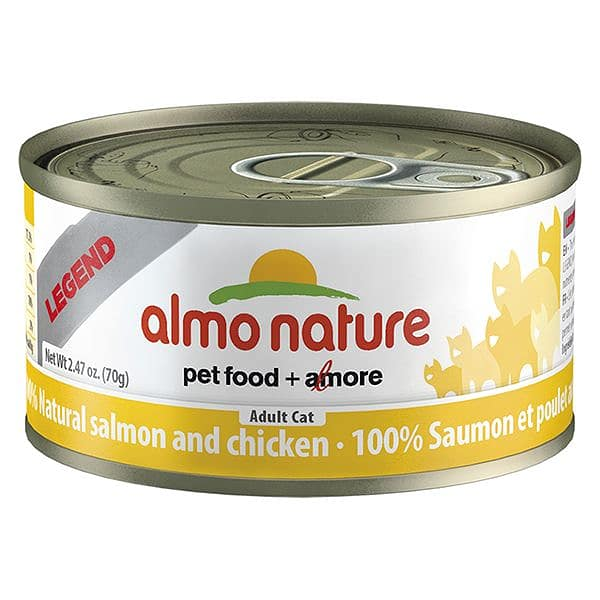 Salmon & Chicken Cat Food