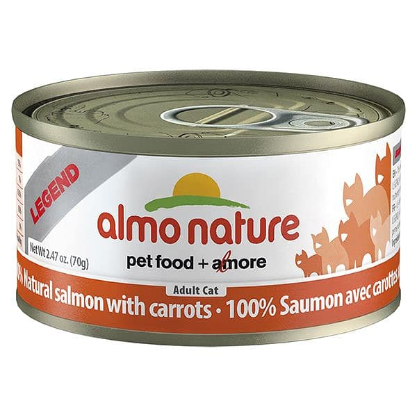 Salmon with Carrots Cat Food