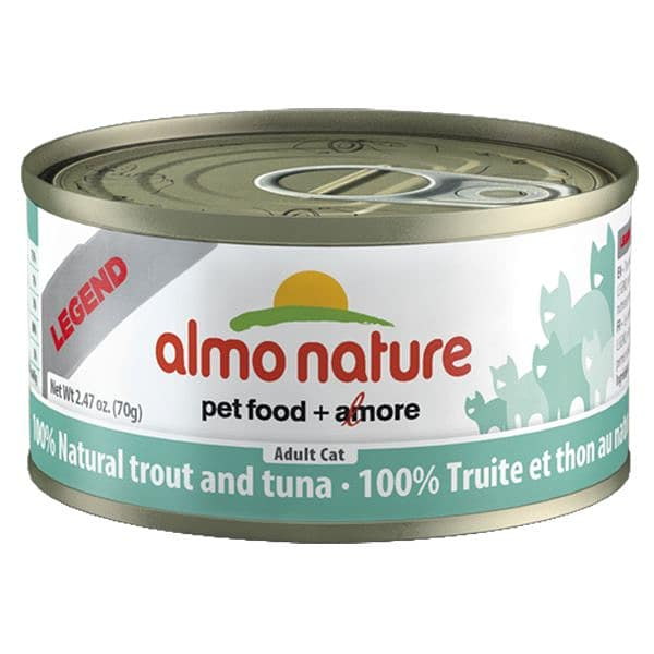 Trout & Tuna Cat Food