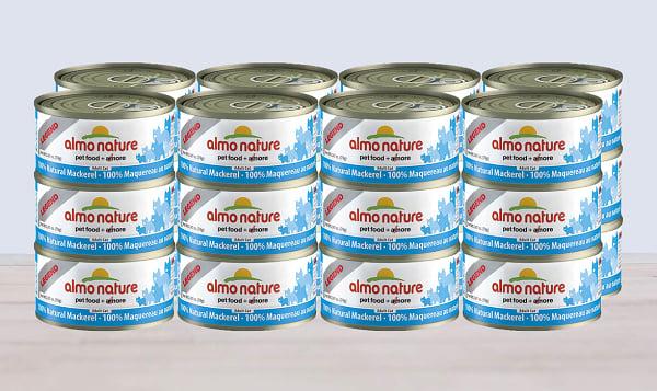 Mackeral Cat Food - CASE
