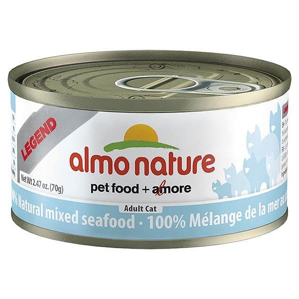 Mixed Seafood Cat Food