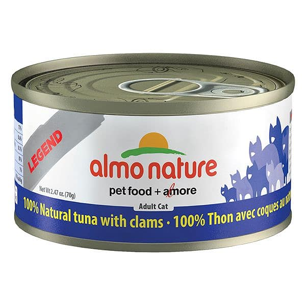 Tuna with Clams Cat Food