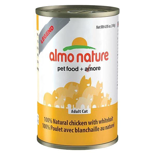 Chicken & White Bait Cat Food