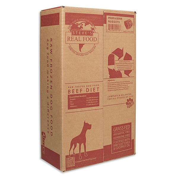 Raw Grass-Fed Beef Patties for Dogs (Frozen)