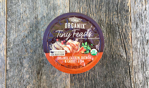 Organic Canned Chicken Quinoa Dog Food