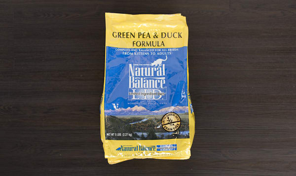 Natural Balance Duck/Pea Cat Food