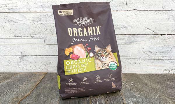 Organic Chicken and Sweet Potato Dry Cat Food