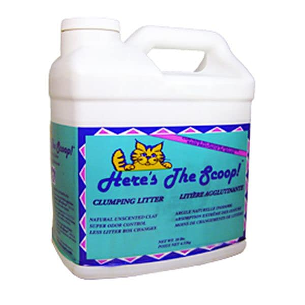 Here's The Scoop Clumping Cat Litter