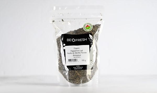 Organic Peppermint Leaf, Cut