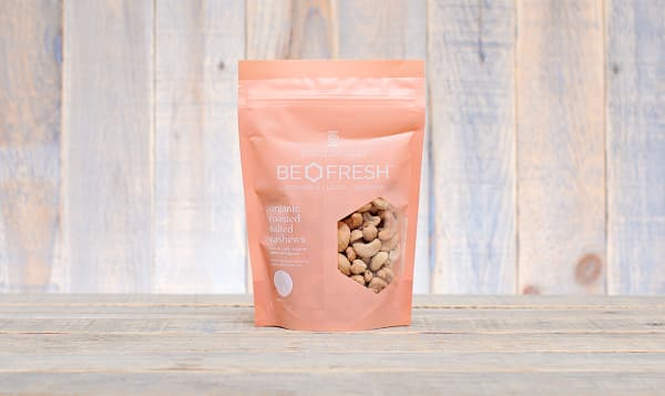 Organic Whole Salted & Roasted Cashews