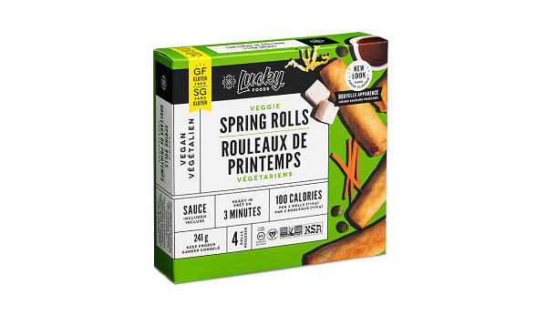Gluten Free Original Spring Rolls (Frozen)