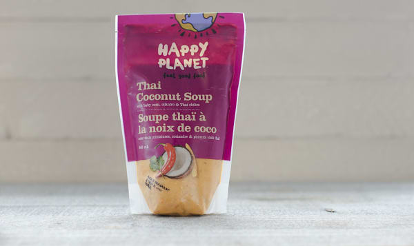 Happy Planet Foods Natural Thai Coconut Soup 650 Ml