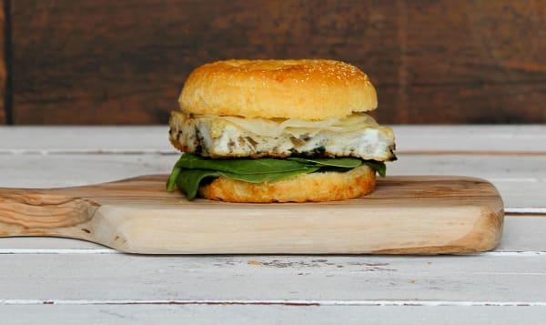 Breakfast Sandwich, Vegetarian