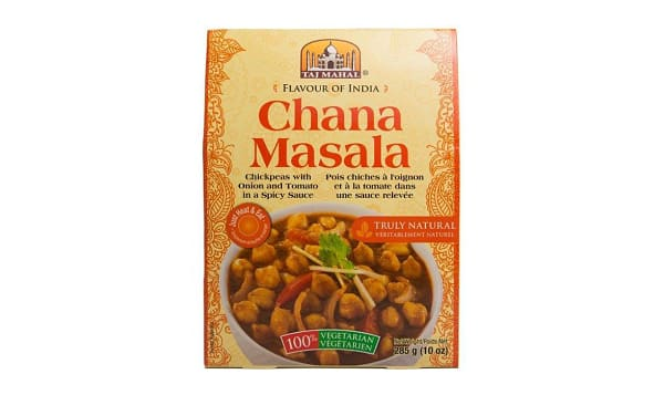 Chana Masala (Chickpeas)