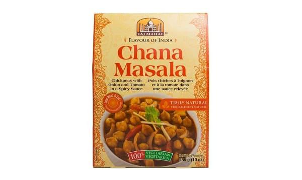 Chana Masala (Chickpeas)