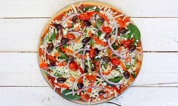 Shaganappi Pizza - Vegan