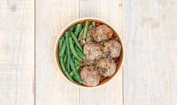 Caribbean Beef Meatballs