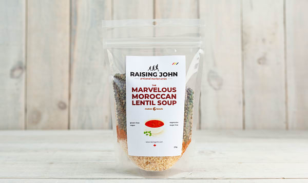 Organic Morrocan Lentil Soup