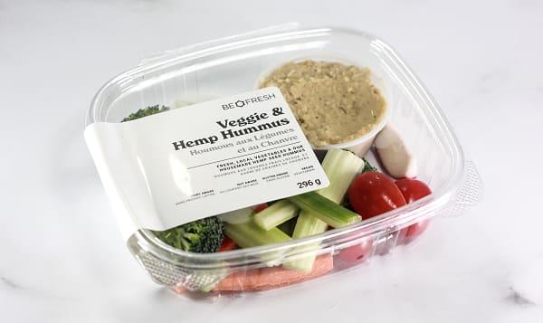 Veggie and Hemp Seed Hummus