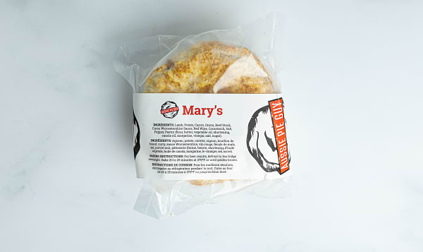 Mary's Pie - Lamb Curry (Frozen)