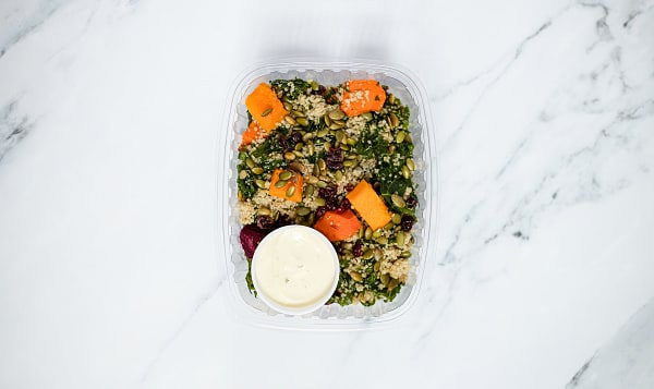 Kale and Roasted Root Vegetable Salad