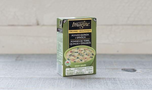 Organic Potato, Quinoa & Spinach Soup