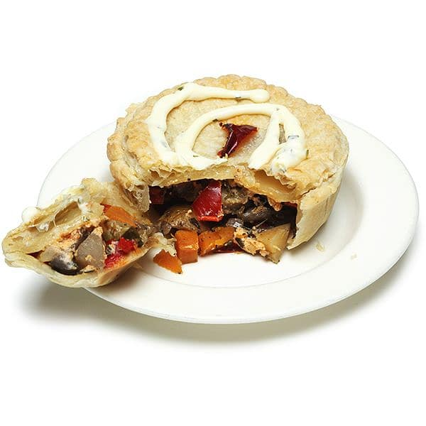 Veggie Pie - Red Pepper Topping (Frozen)