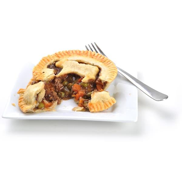 Beef Pot Pie - 4  (Frozen)
