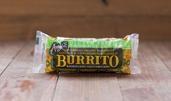 Black Bean & Quinoa Burrito