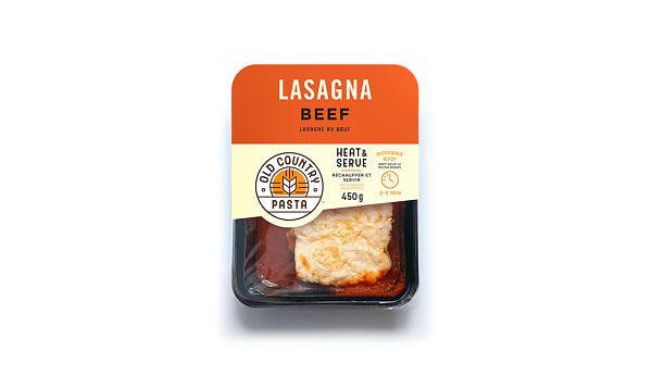 Beef Lasagna - Heat & Serve