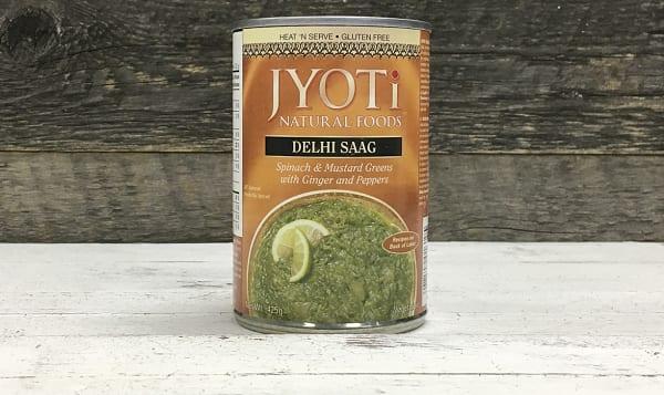 Delhi Saag Spinach & Mustard Greens