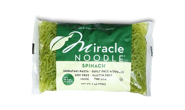 Angel Hair Spinach Shirataki Noodles