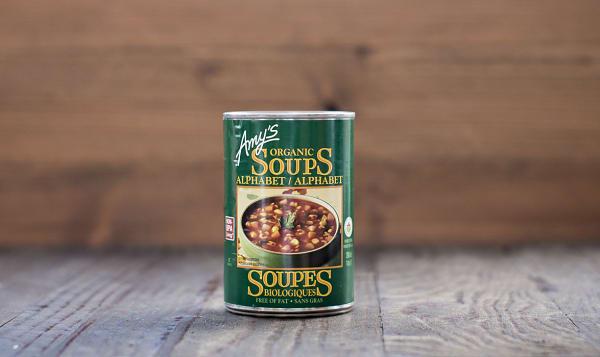 Phenomenal Amys Kitchen Organic Alphabet Soup Bpa Free 398 Ml Interior Design Ideas Inamawefileorg