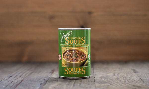Organic Lentil Vegetable Soup - BPA Free
