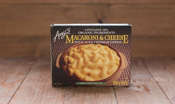 Organic Macaroni & Cheese (Frozen)