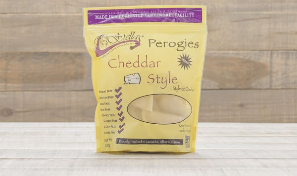 Vegan Cheddar Perogies (Frozen)
