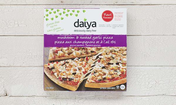 Mushroom & Garlic Pizza (Frozen)